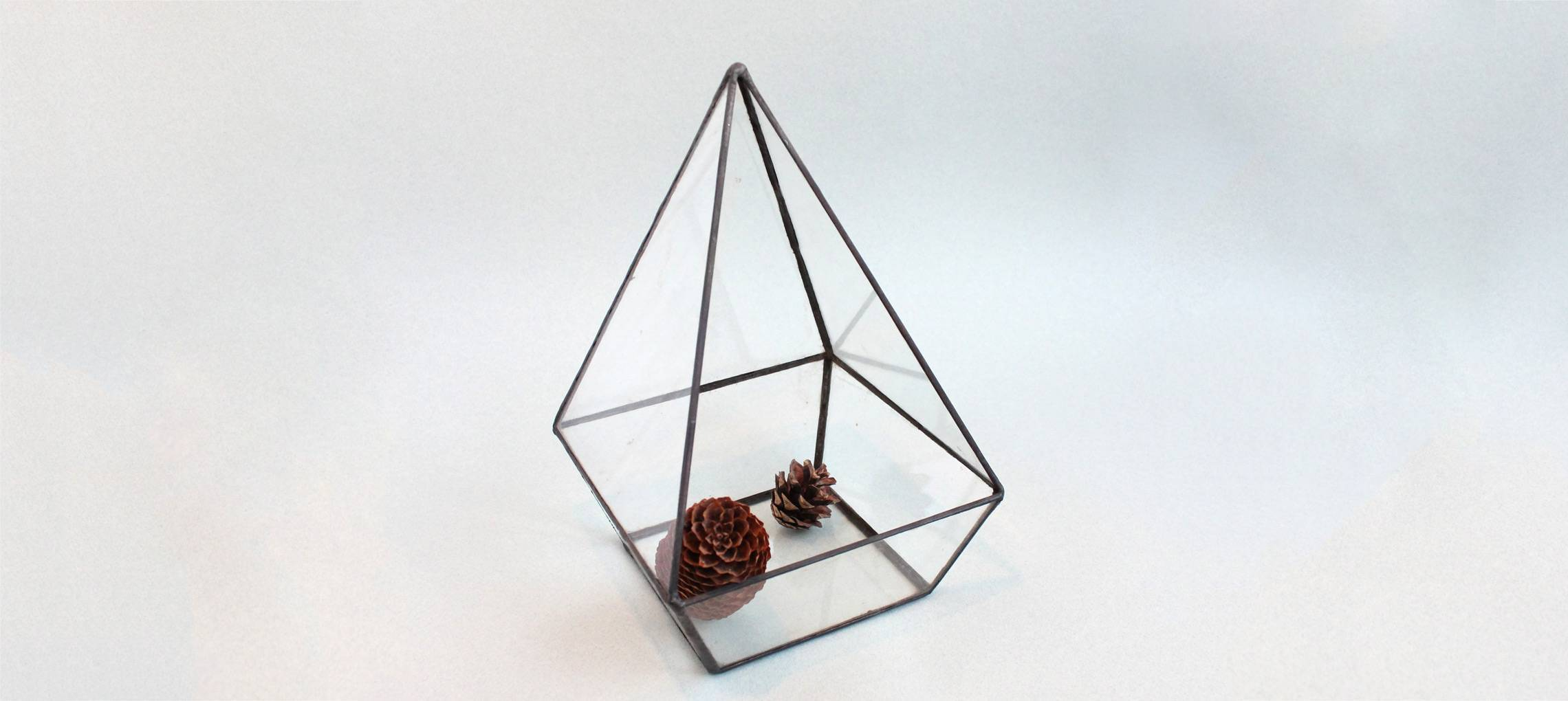 Флорариум для растений Пирамида