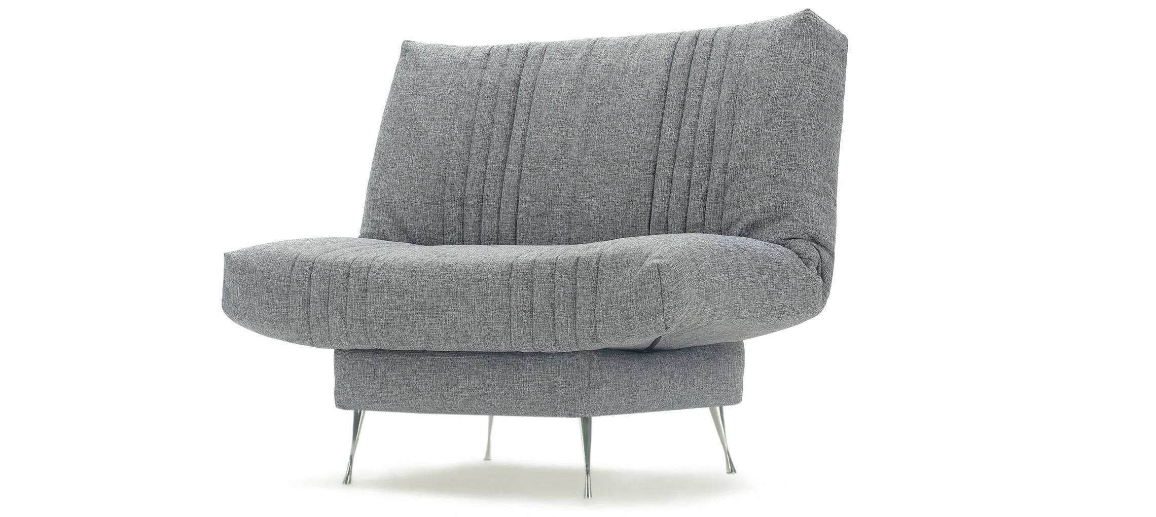 СИТИ Кресло Рогожка Натура серый
