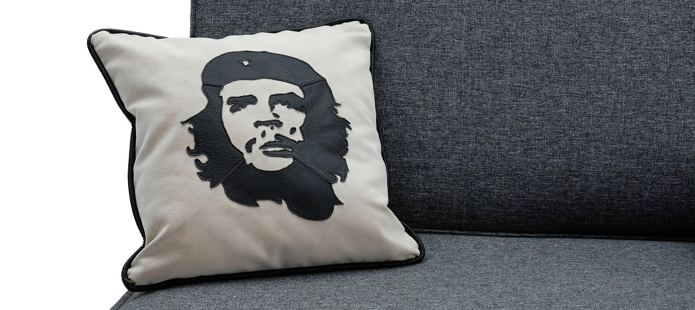 Подушка Че Гевара Калифорния супер Nero